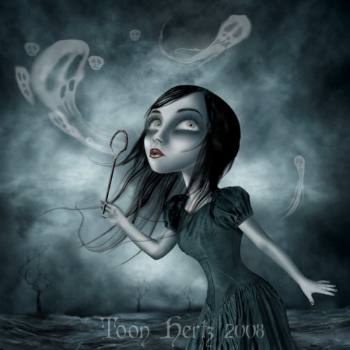 Мрачный мир Toon Hertz