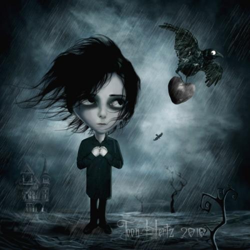 Мрачный мир Toon