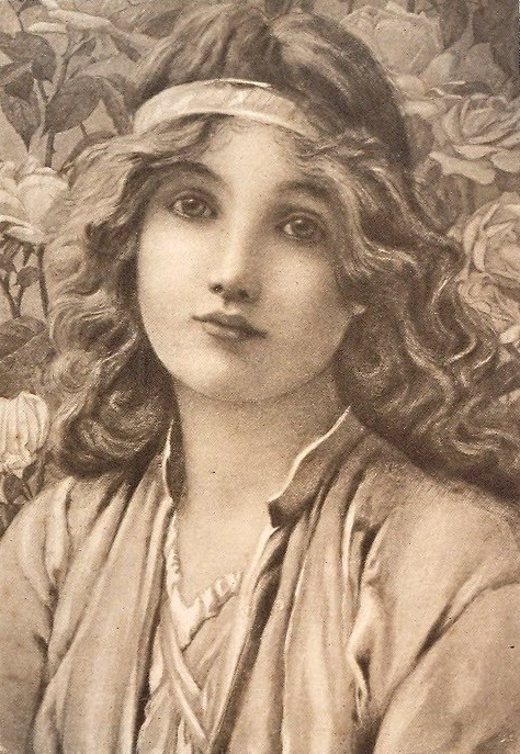 Английский живописец Henry Ryland( 1856-1924) (92 работ)