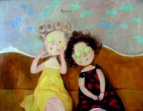 Картины Евгении Гапчинской (48 работ) (2 часть)