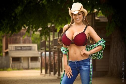 Jordan Carver - Cowgirl (29 фото) (эротика)