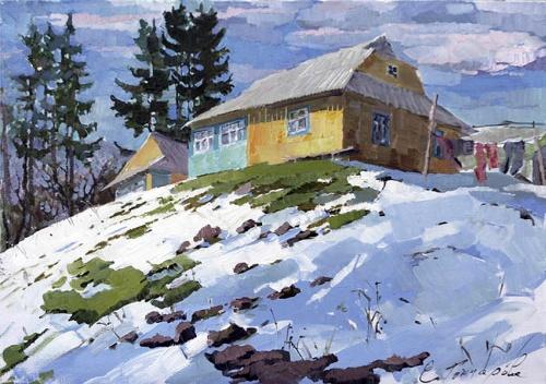 Живопись Екатерины Гончаровой (61 работ)