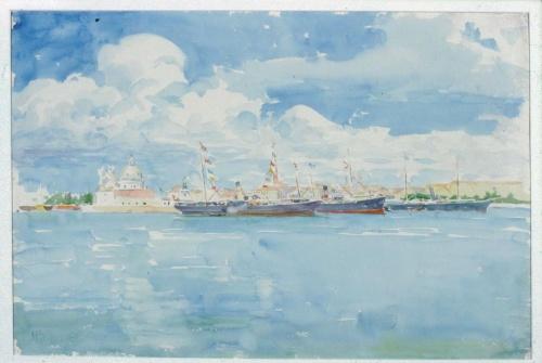 Американский художник Henry Bacon (1839-1912) (65 работ)