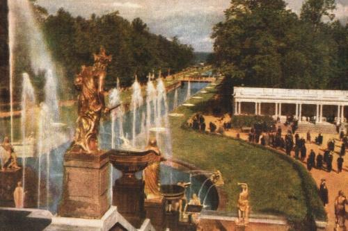Петродворец  (16 открыток)