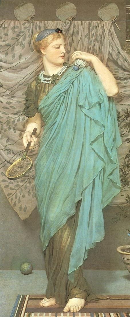 Английский художник Albert Joseph Moore (1841-1893) (100 работ)