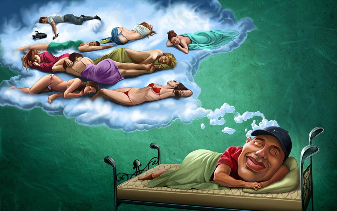 мусульманских смешные картинки на тему снов взгляд