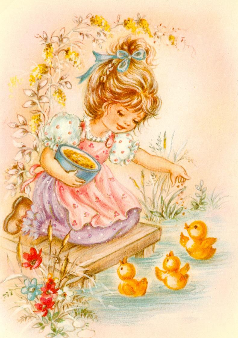 Децкая открытка