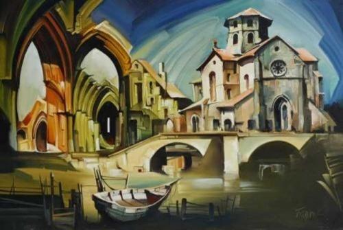 Живописные виды Fassel Lousa Ferenc (63 работ)