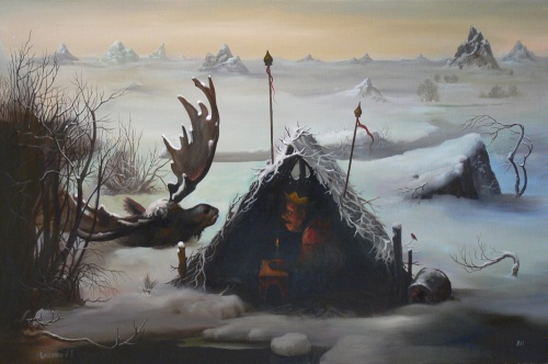 Сюрреалистические картины художника Лазарева Игоря (80 работ) (2 часть)