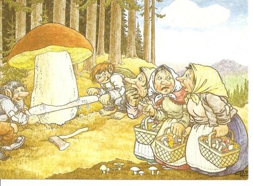 Художник - иллюстратор Rolf Lidberg (130 работ)