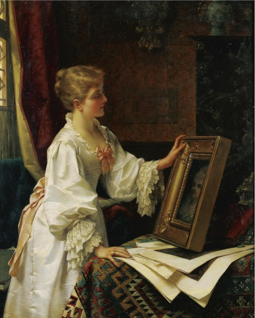 Бельгийский художник Jan Frederik Pieter Portielje (1829-1908) (55 работ)