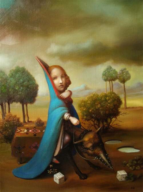 Сюрреалистические картины художника Лазарева Игоря (55 работ) (1 часть)