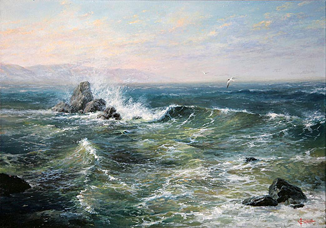 Морские пейзажи александра сарычева