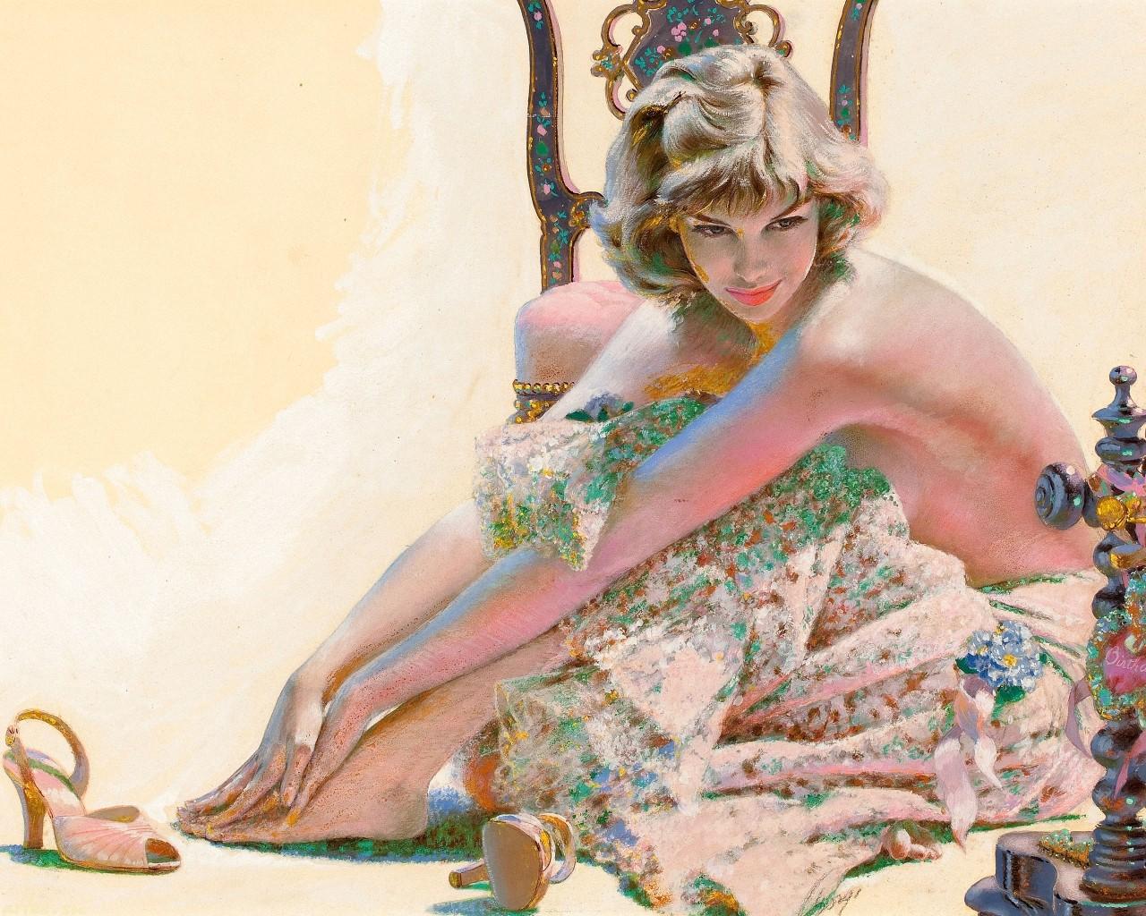 Сексуальные образы в иллюстрации художников 6 фотография