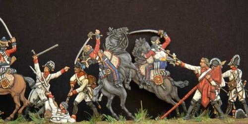 Миниатюры военной техники ВОВ   Cavallieri. Historical miniature painting (71 фото)