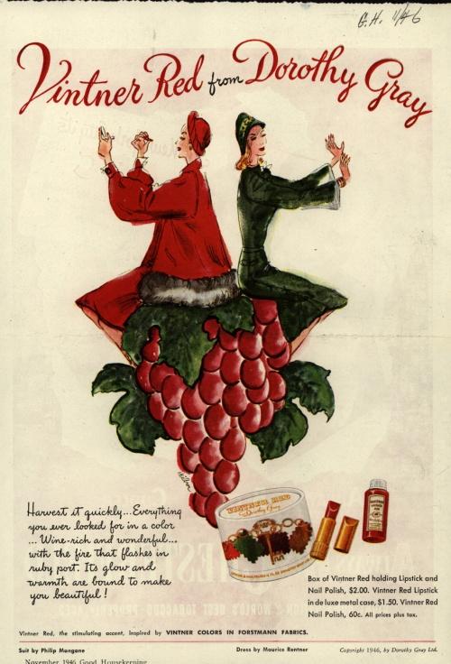 Реклама косметики. 1940-е. Часть 3 (87 фото)