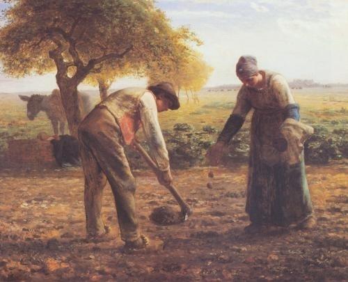 Жан-Франсуа Милле | XIXe | Jean-Francois Millet (217 работ)