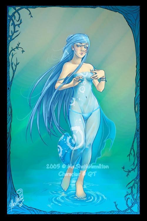 Фэнтези-аниме арт от художницы Шатиа Гамильтон (Shatia Hamilton) (236 работ)
