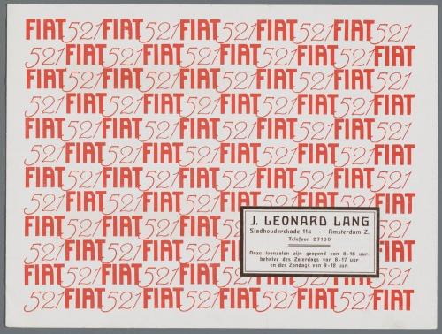 Dutch Automotive History (part 29) Fiat (675 фото)