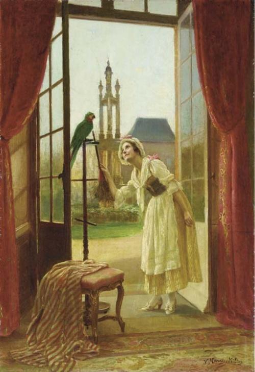 Французский художник Victor Marais-Milton (1872 - 1944) (53 работ)