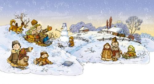 Иллюстратор Елена Железняк (55 работ)