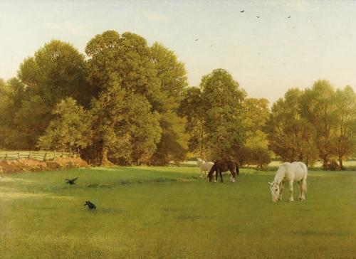 Английский художник George Dunlop Leslie (1835-1921) (46 работ)