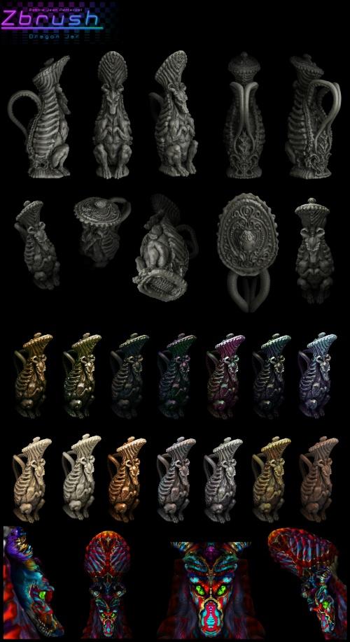 Фэнтези арт Bobbie Jean (122 работ)
