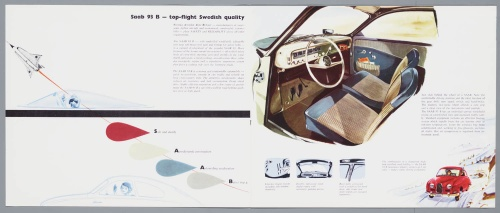 Dutch Automotive History (part 31) Saab (39 фото)