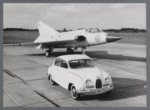 Dutch Automotive History (part 31) Saab (39 фото)