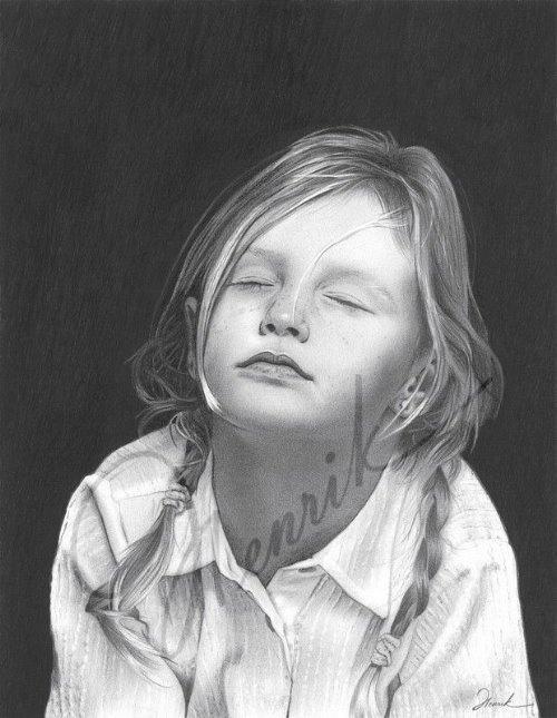 Подборка рисунков карандашом и тушью (154 работ)