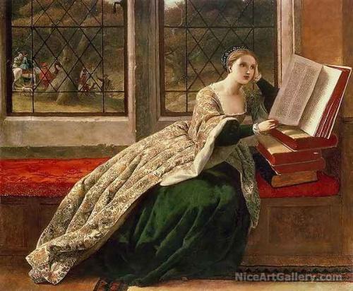 Английский художник Frederick Richard Pickersgill (1820-1900) (46 работ)