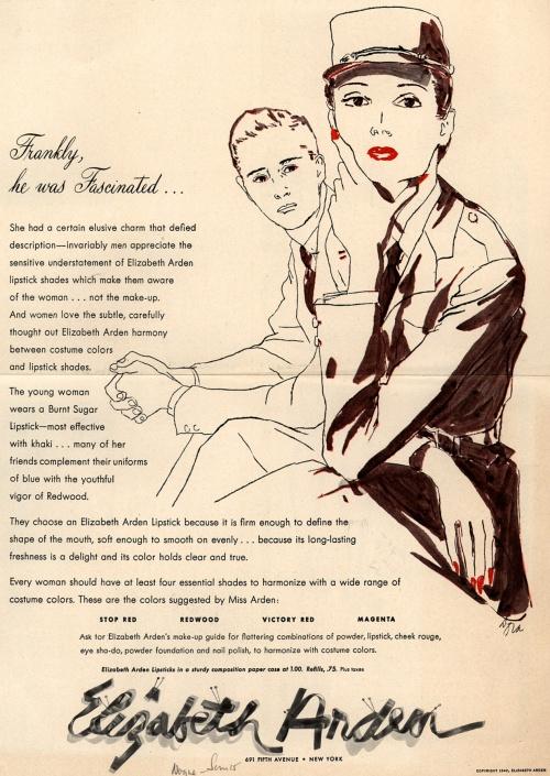 Реклама косметики. 1940-е. Часть 1 (100 фото)