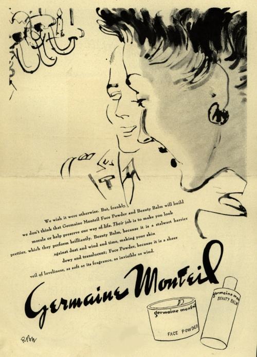Реклама косметики. 1940-е. Часть 2 (110 фото)