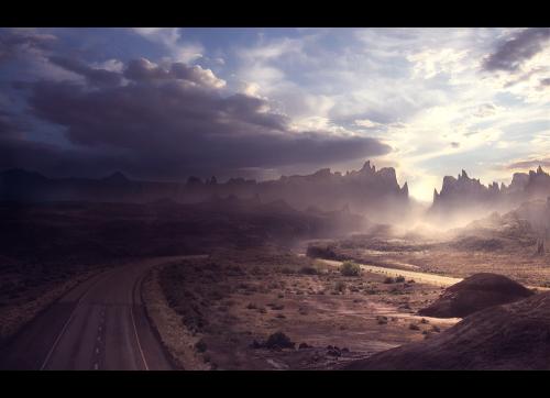 Sunset Boulevard by Simon Weaner (138 работ)
