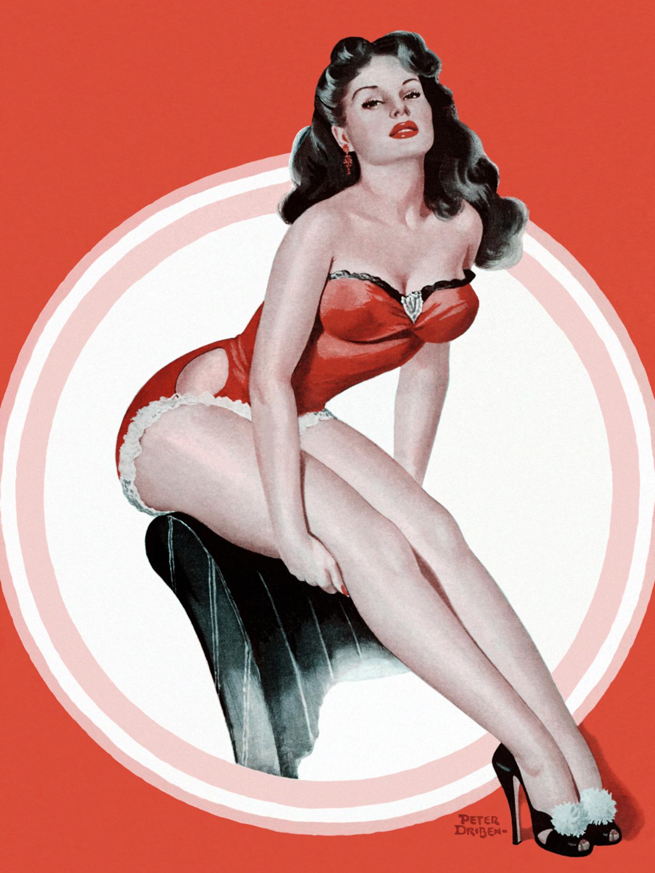 Mature ladies skirts high heels nylons