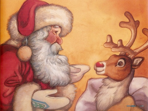 Story book about Rudolph the Red-Nosed Reindeer (20 �����)