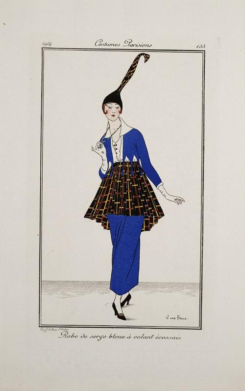 Vintage fashion magazines # 2  Старинные журналы мод 2 (54 работ)