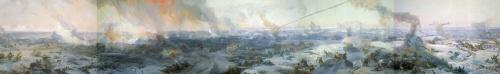 Панорамные картины Великой Отечественной войны (10 работ)