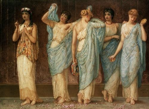 Женский образ в живописи 18-20 веков часть 7 (97 работ)