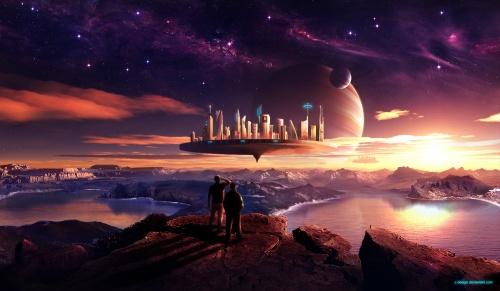 30 Sci-fi Digital Paintings (30 фото)