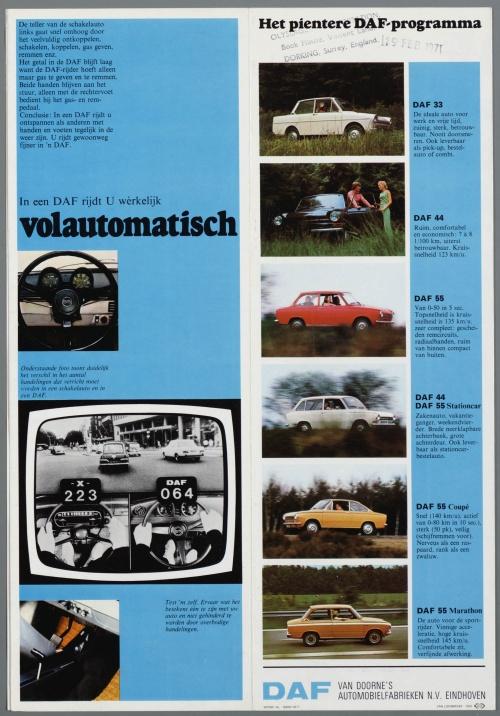 Dutch Automotive History (part 32) DAF (84 фото)