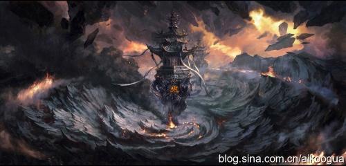 Цифровой художник A-Sloudi (Китай) (15 работ)