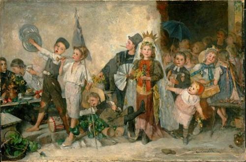 Шведский художник Emma Ekwall (1838-1925) (29 работ)