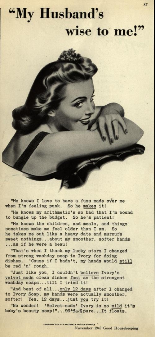 Реклама мыла 1940-е (174 фото)