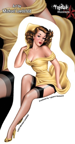 Pin-Up Collection by Michael Landefeld (250 работ)