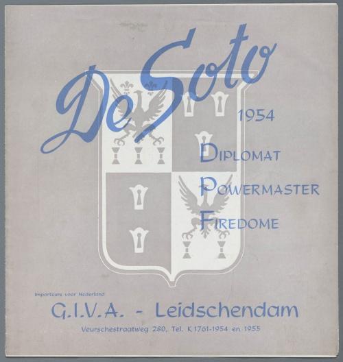 Dutch Automotive History (part 34) De Dion Bouton, Delage, Delahaye, DeSoto (34 фото)