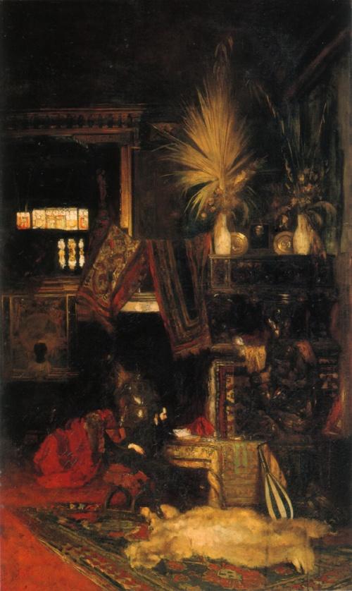 Австрийский художник Eduard Charlemont (1848–1906) (20 работ)