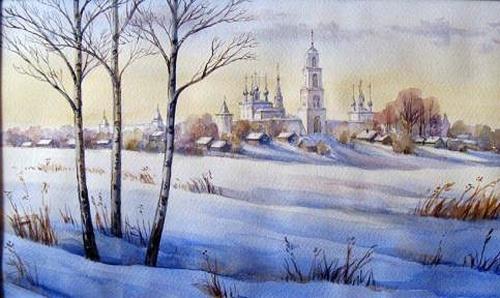 Акварель Натальи Рубачевой (38 работ)
