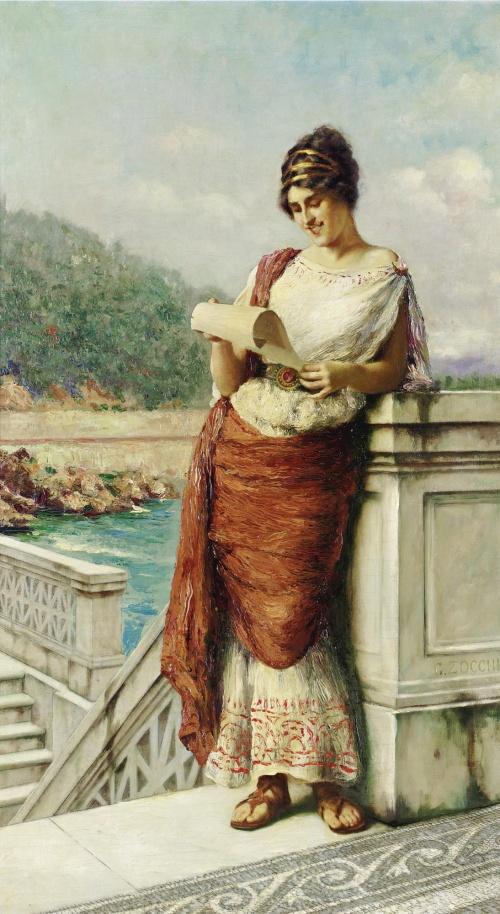 Итальянский художник Guglielmo Zocchi (27 работ)