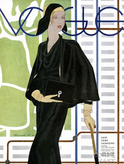 Vintage Vogue Cover \ Винтажные обложки Vogue первой половины ХХ века (266 работ)